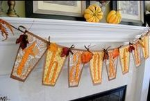 Fall crafts / by Kim