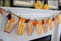 Fall crafts / by Kim