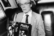 """Andy Warhol / """"I'd asked around 10 or 15 people for suggestions. Finally one lady friend asked the right question, 'Well, what do you love most?' That's how I started painting money."""""""
