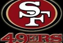 San Francisco Forty Niners / My favorite football team for life!  / by Cindy Burns