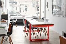 spaces to work in / to create, read, think, make, do
