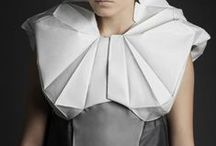 folds / textile and material manipulation- tactile, clever and wonderful