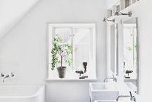 """Scandinavian Decorating Ideas / """"Monochrome, is the person that doesn't shout, he says less, and more gets heard."""" - Karen Darling"""