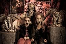 DIY Haunted House / Do it yourself ideas for a haunted house in your own home, garage or yard for Halloween