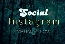 SOCIAL: Instagram Following & Marketing / Instagram is a social media unto itself. The only platform that still hangs onto the theory that you have to place the content yourself, to keep it real!