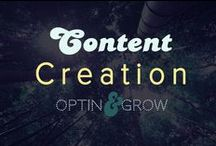 CONTENT: Creation & Tips to make better online digital products / For all those die-hard content creators out there, this board is for you!