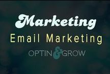 MARKETING: Email Marketing & Email Tips / Keep your email marketing sharp, focused and consistent.