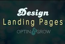 DESIGN: Landing Pages & Sales Pages & Email Capture / The one-page website that wants that conversion upon landing!