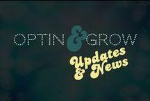 OPTIN & GROW Blog, News & Updates / Here is all the official OptinANDgrow updates!
