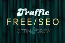 MARKETING: SEO, Free Traffic, JV's & social shares / If you want more people to visit your website, but you don't want to pay for ads, then you should consider putting some time into SEO...