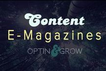 CONTENT: Magazine & Virtual Publications / iTunes, iBooks and more!