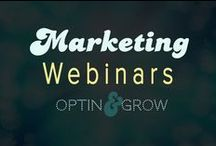 MARKETING: Webinars, how to, why to, when to. / All things you need to know about great webinars!