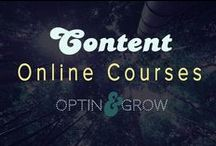 CONTENT: Online courses, workshops, coaching & consulting / Bringing your knowledge to the forefront with an online training event, or course.