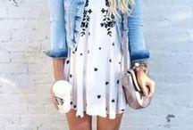 SPRING FASHION / Women's Spring Fashion. Outfit ideas for the spring season