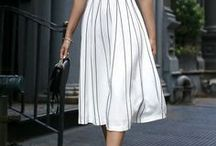 POLISHED & CHIC STYLE / Women's Fashion. Polished and chic looks. Monochromatic outfits, very tailored looks