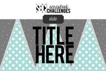 SBC Sketches / by Scrapbook Challenges