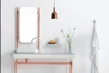 splish and splash / Bathroom beautiful. / by Leah Dent