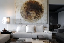 Living With Art / Decorating with original art / by Jan Groenemann