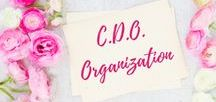 C.D.O. / Organization | How to Organize | Cleaning Tips and Tricks | DIY |