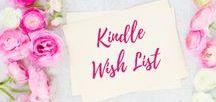 Kindle Wish List / Books | Kindle Books | Books I Want to Read |
