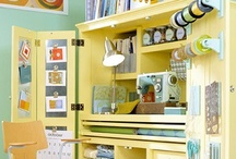 Organizing A Craft Room / by Vicki Sticky