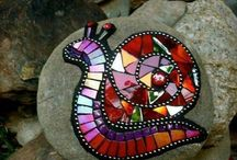 Crafty: Mosaics. / Enough little bits make a beautiful whole. / by Edna Lötter Botha