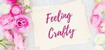 Feeling Crafty / Crafts | Crafts with Kids | Toddler Crafts | DIY |