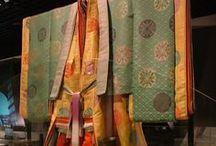 平安の呉服 (Heian Layers) / 唐衣裳と束帯とのし / by Ragtime Doll