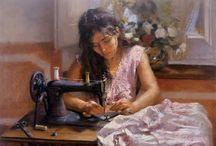 Art: Sewing. / by Edna Lötter Botha