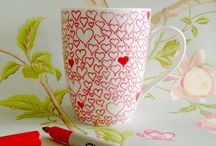 Crafty: Mug art. / Let your mind go, doodle and create a one-off. / by Edna Lötter Botha