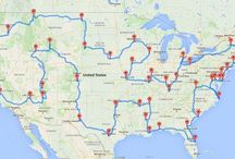 Great American Road Trip / A planning tool for our cross-country road trip.