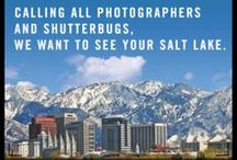 Salt Lake Exposed / Calling all photographers: We want to see Salt Lake through YOUR lens! Enter 'Salt Lake Exposed' photo contest now through 7/6! 5 categories & unlimited entries to show off your photography skills & WIN prizes! Categories: Salt Lake After Dark, Urban Adventure, Art & Architecture, Gather 'round, & Taste of Salt Lake. Not pro? No problem! 2 workshops to perfect your skills: http://budurl.com/PhotoWorkshops Photos to be judged by the Visit Salt Lake team & partners Pictureline & Squatters Pubs!  / by Visit Salt Lake