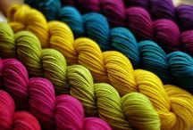 Crafty: Colour combinations. / Crochet, knitting and quilting zingers. / by Edna Lötter Botha