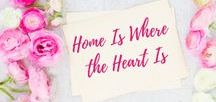 Home Is Where the Heart Is / Mid Century Modern meets Rustic Decor | Recipes | DIY |