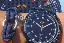 Pulseras náuticas / Pulseras con estilo náutico.