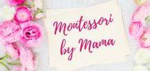 Montessori by Mama / Montessori Educational Activities for Home School and Toddler Preschool | Montessori | Preschool | Education |