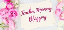 Teacher Mommy Blogging / All things for teacher moms from teacher moms. Tips and tricks for teaching your little ones at home. Email me at bstarie@yahoo.com if you would like to collaborate! | Teachers | Moms | Teacher Moms | Teacher Mommy Blogging | Classroom Ideas | Lesson Planning | Education |  Teacher Mom | Mom Blogs | Home School | Preschool