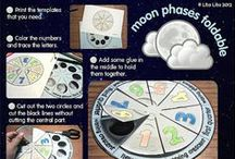 phases of the moon / Phases of the Moon activities / by Sarah Womack