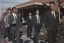 """Rat Pack / Oh, to have been a """"doll"""" back then...with men like these!"""