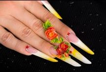 NailArt / Different kinds of #nails, from simple to sophisticated and more complex #nailarts , name it, we have them all!