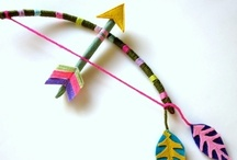 crowns, arrows and swords...for kids