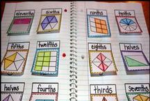 Math- fractions / Math lesson ideas for fractions / by Sarah Womack