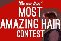 Moosejaw's Most Amazing Hair Contest / Obviously everyone at Moosejaw has got great hair but we need your help deciding whose is the best. Cast your vote by Liking your favorite hairstyle. The winner get's their photo blown up and framed in the CEO's office.