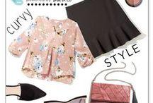 Chicas con curvas style / Ideas de moda para chicas rellenitas. Como vestir para estilizar tu figura y sentirte comoda y elegante a tu medida.