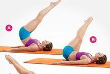 Ejercicios/work out/yoga / by Latina con Estilo. com