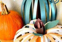 Pumpkin Decor / Lots of great ideas to decorate pumpkins!!
