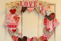 Love is in the Air / Valentine's day crafts and decor / by Damsel of Distressed Cards