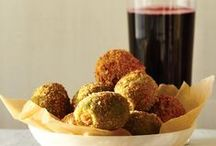 Small Dish Dinner Parties / Tapas, Meze, Hor d'oeuvres, Appetizers, Finger food, call it what you like but these small plates make for easy, crowd-pleasing meals. (All vegetarian, many vegan) / by Juli Bey