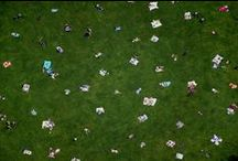 Au Parc / Gray Malin's aerial photography series capturing the most famous parks in the world: Central Park, Hyde Park, Parc de Laberint and more!