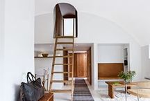 Ladders: Homes For Climbers / Elegant and light, they can change a regular room to a jungle gym of hidden alcoves, balconies and mezzanines. This guide shows the ladders to successful conversions for children's rooms, family rooms, storage, and purely for the sake of the style. / by KNSTRCT